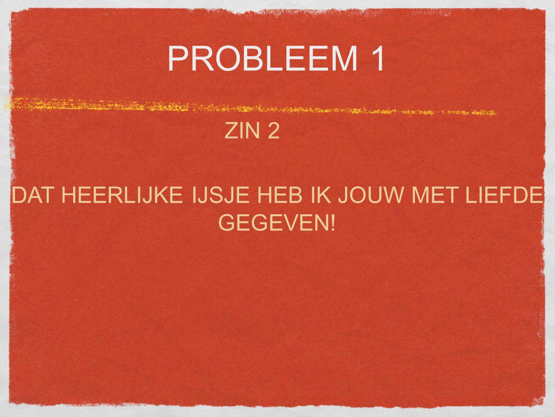 PROBLEEM 1 ZIN 3 IS DIE LELIJKE OUDE AUTO ECHT VAN JOU?