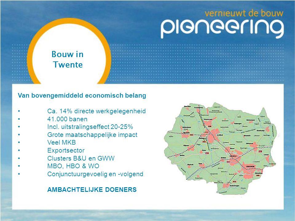Bouw in Twente Van bovengemiddeld economisch belang Ca.