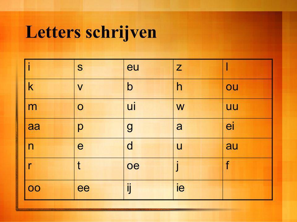 Letters schrijven iseuzl kvbhou mouiwuu aapgaei neduau rtoejf ooeeijie