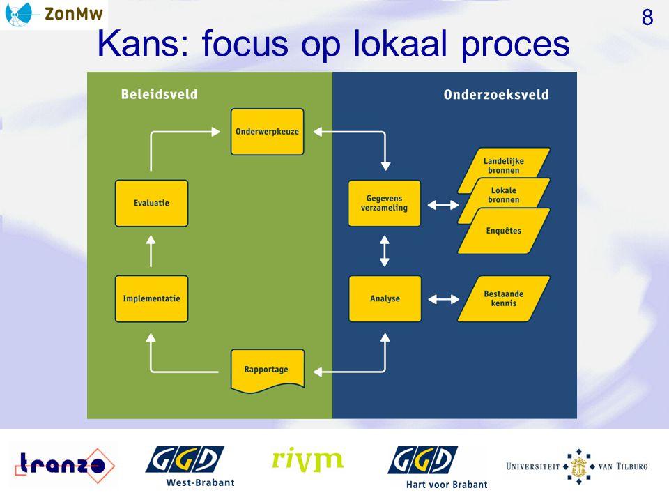 Kans: focus op lokaal proces 8