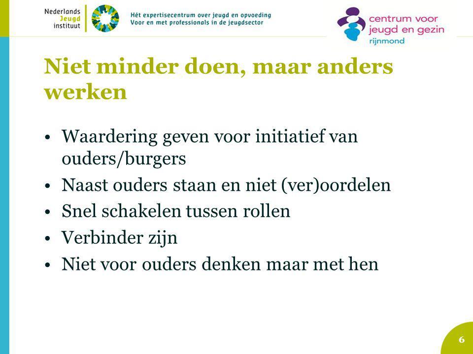 Wat gebeurt er binnen het CJG Rijnmond.