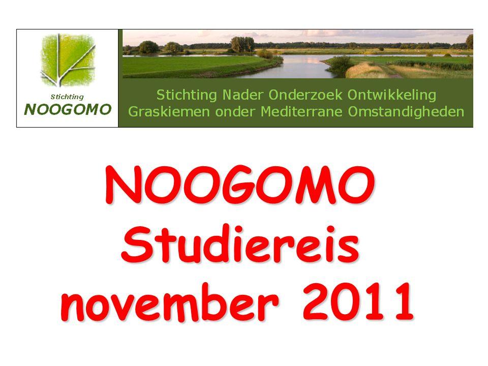 NOOGOMO Studiereis november 2011
