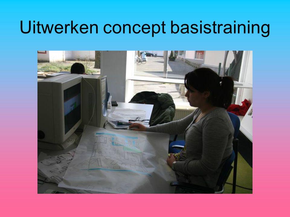 Uitwerken concept basistraining