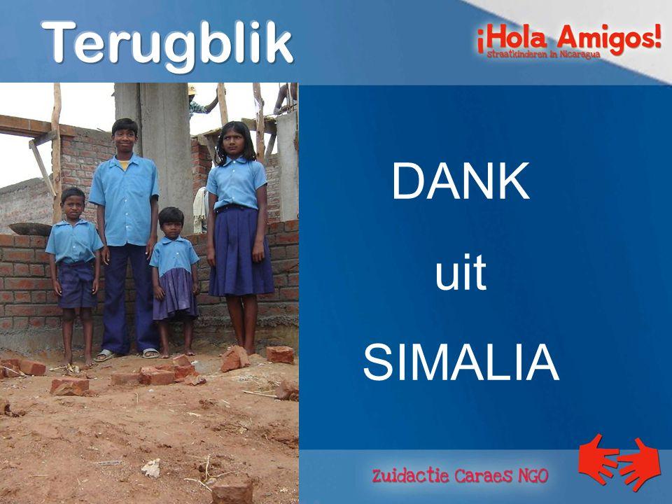 DANK uit SIMALIA