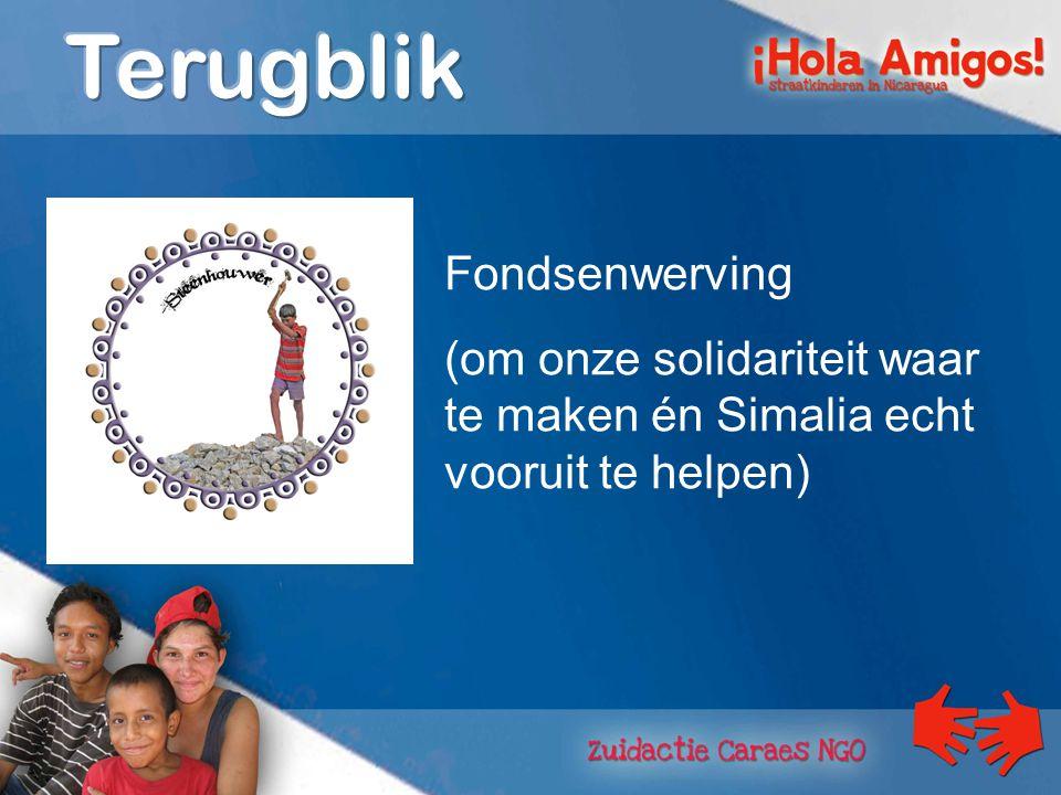 totale opbrengst campagne Smile Simalia: € 163.912 waarvan € 139.763 in de entiteiten van de Broeders van Liefde