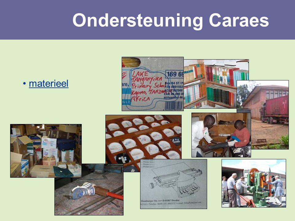 materieel Ondersteuning Caraes