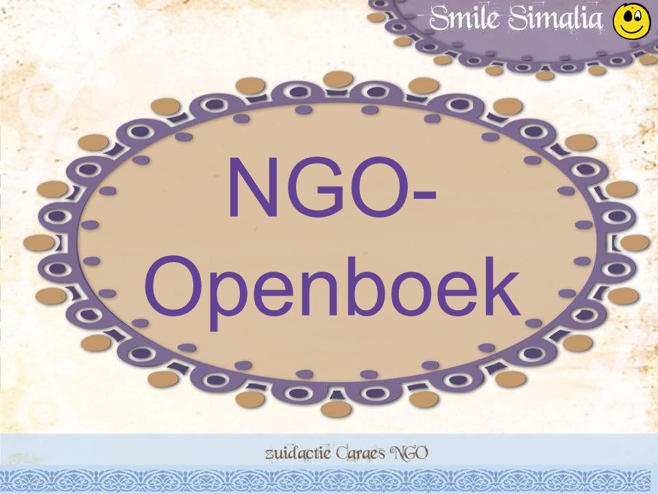 NGO- Openboek