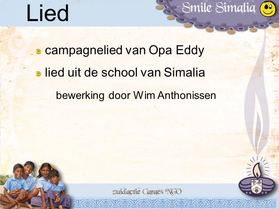 campagnelied van Opa Eddy lied uit de school van Simalia bewerking door Wim Anthonissen Lied