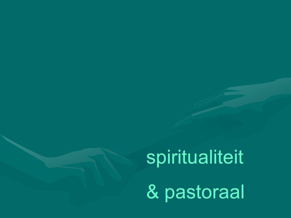 spiritualiteit & pastoraal