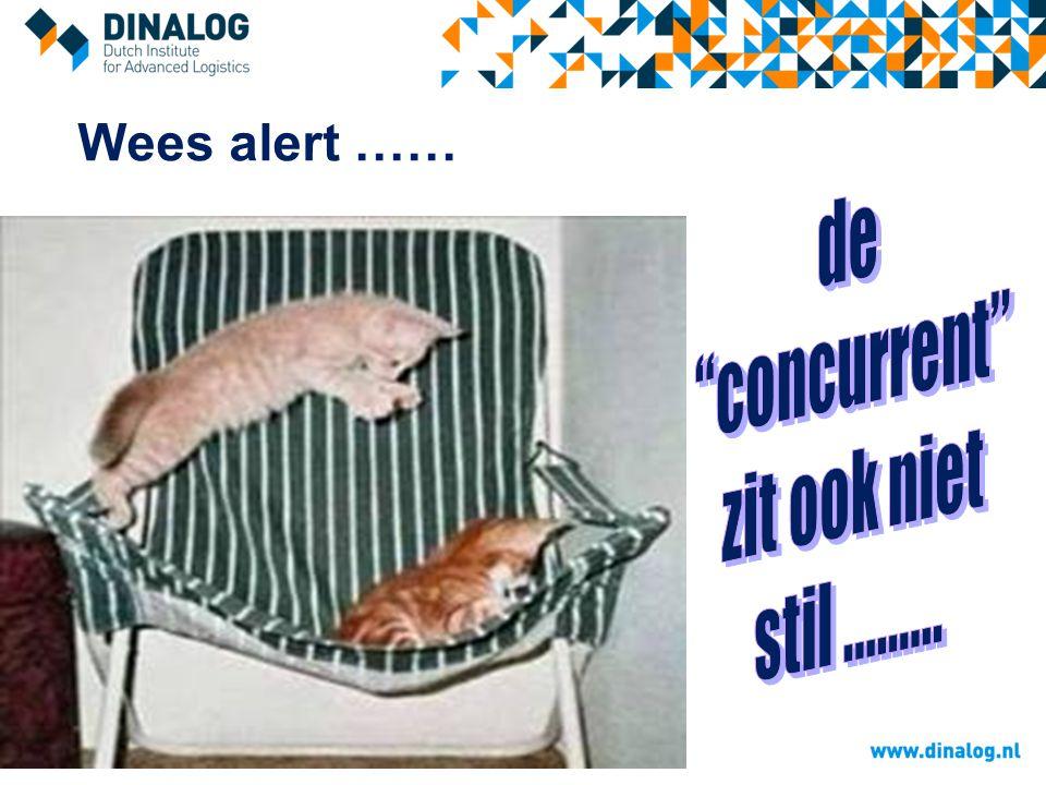 Wees alert ……