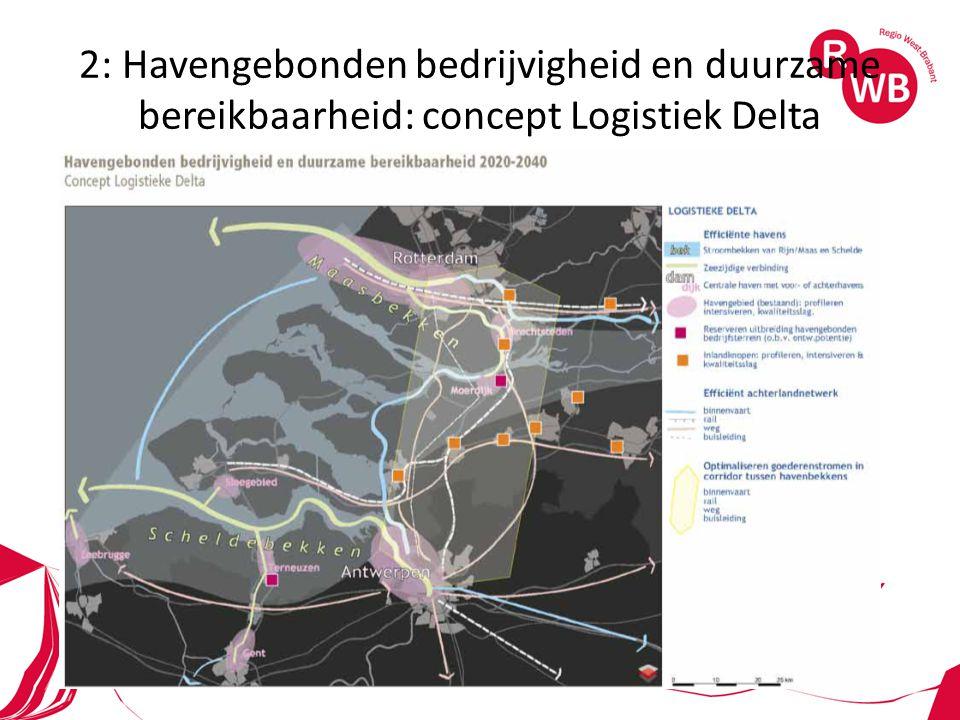 2: Havengebonden bedrijvigheid en duurzame bereikbaarheid: concept Logistiek Delta