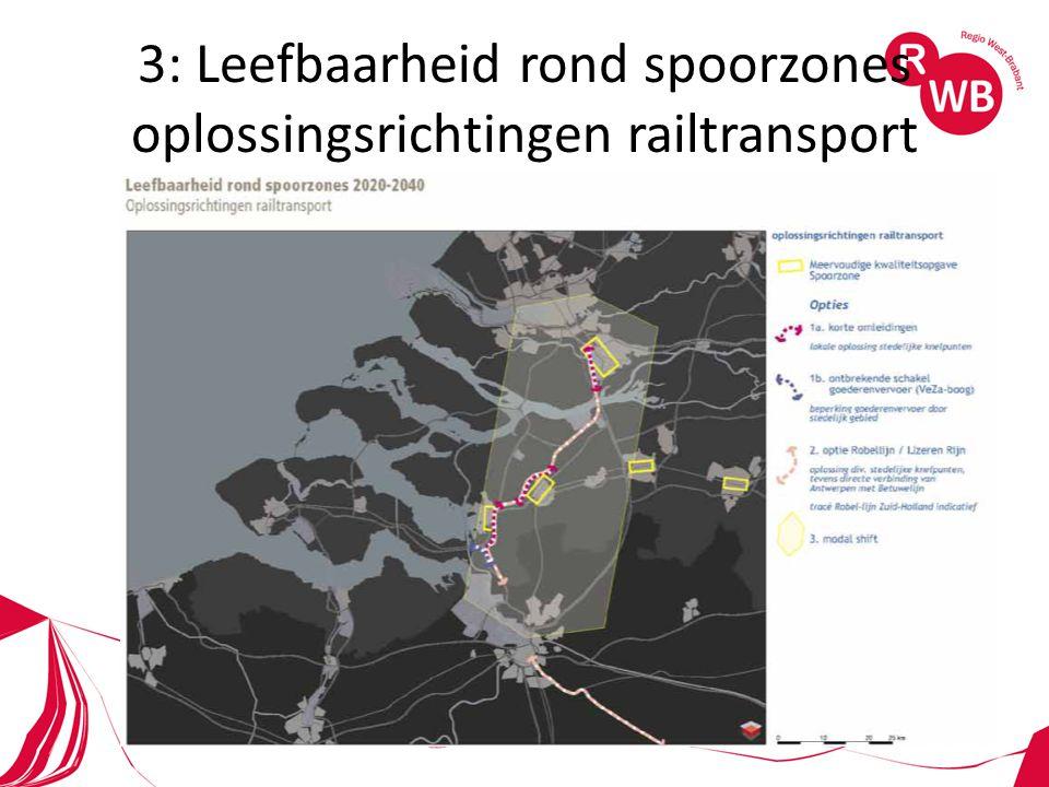 3: Leefbaarheid rond spoorzones oplossingsrichtingen railtransport