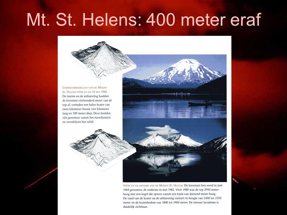 Mt. St. Helens: 400 meter eraf