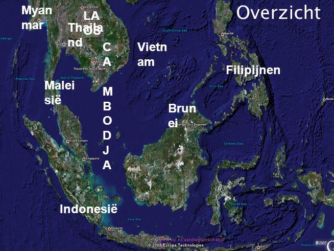 Platentektoniek zorgt in Zuidoost-Azië voor: Vulkanisme Aardbevingen / aardverschuivingen Lahars Tsunami's Natuurrampen