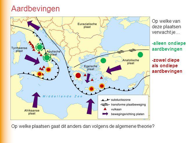 Het vulkanisme in het Middellandse Zeegebied wordt in het algemeen ver- oorzaakt door Bij zowel de Griekse als de Italiaanse vulkanen is een vulkanische boog te herkennen parallel aan de subductiezone subductie Vulkanisme