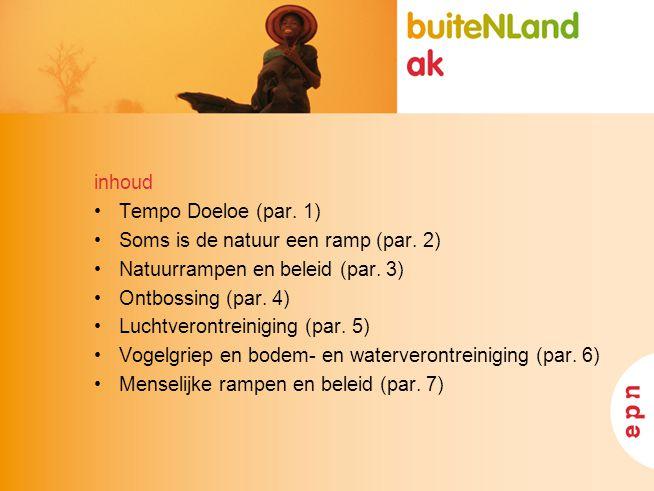 www.vu.nl/aardwetensc happen Overzicht