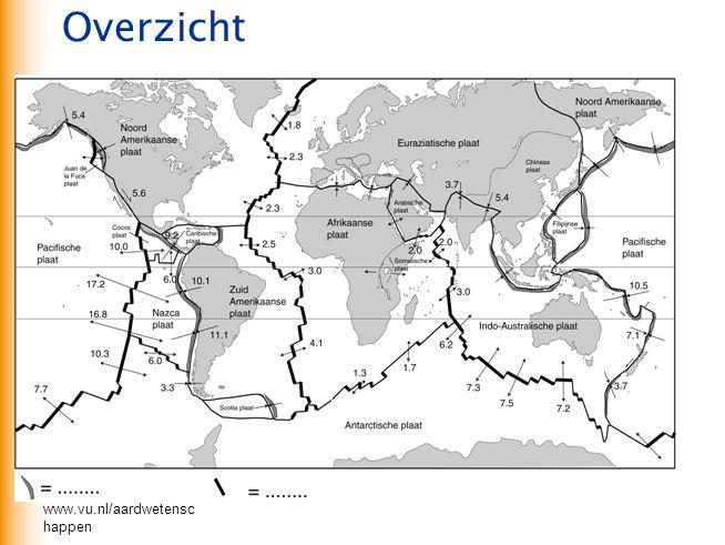 www.vu.nl/aardwetensc happen Overzicht Bosatlas