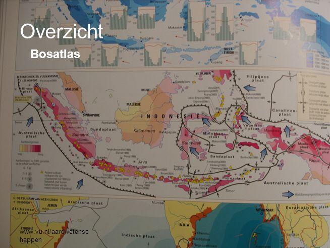 www.vu.nl/aardwetenschappen Sumatra Toba