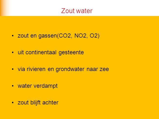Waarom wordt zeewater niet steeds zouter.