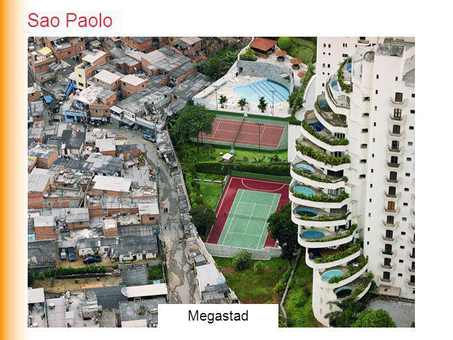 Megasteden Megastad Sao Paolo