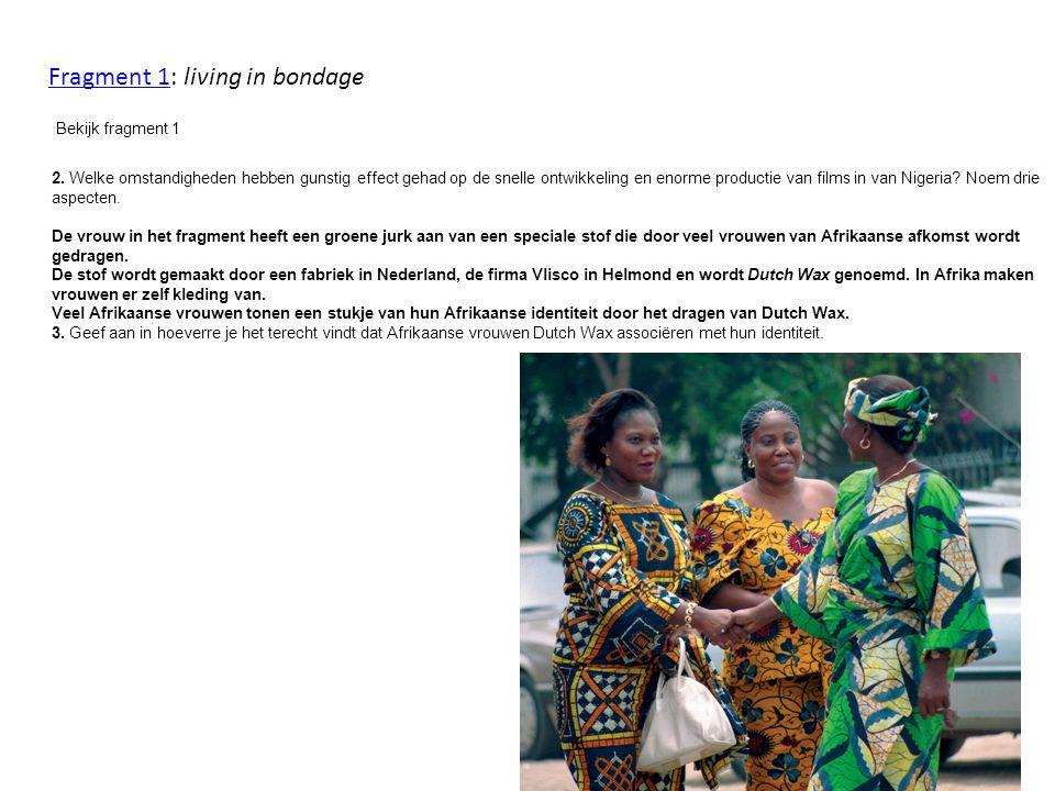 2. Welke omstandigheden hebben gunstig effect gehad op de snelle ontwikkeling en enorme productie van films in van Nigeria? Noem drie aspecten. De vro