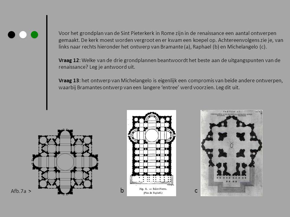 Voor het grondplan van de Sint Pieterkerk in Rome zijn in de renaissance een aantal ontwerpen gemaakt. De kerk moest worden vergroot en er kwam een ko