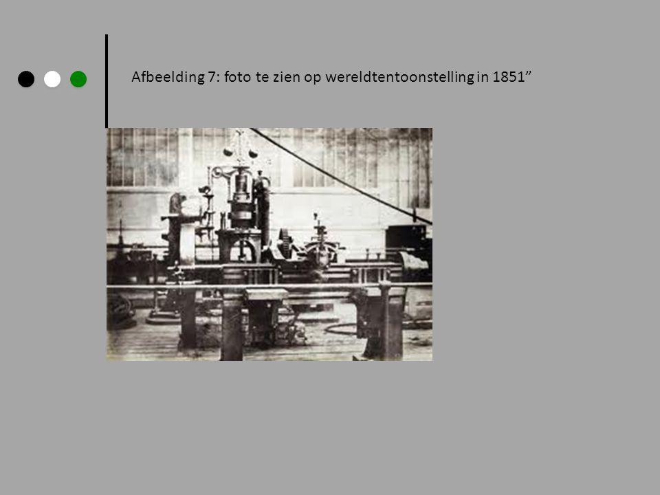 """Afbeelding 7: foto te zien op wereldtentoonstelling in 1851"""""""