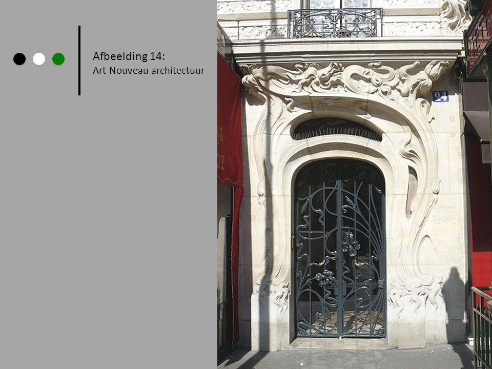 Afbeelding 14: Art Nouveau architectuur
