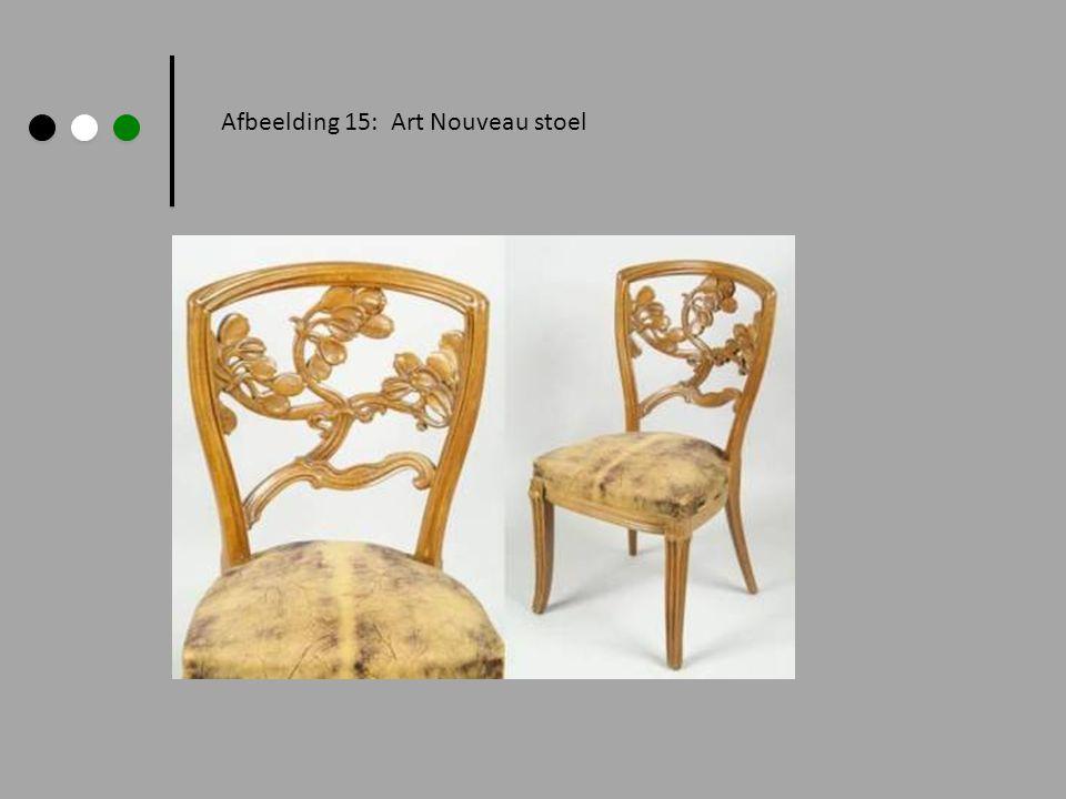Afbeelding 15: Art Nouveau stoel
