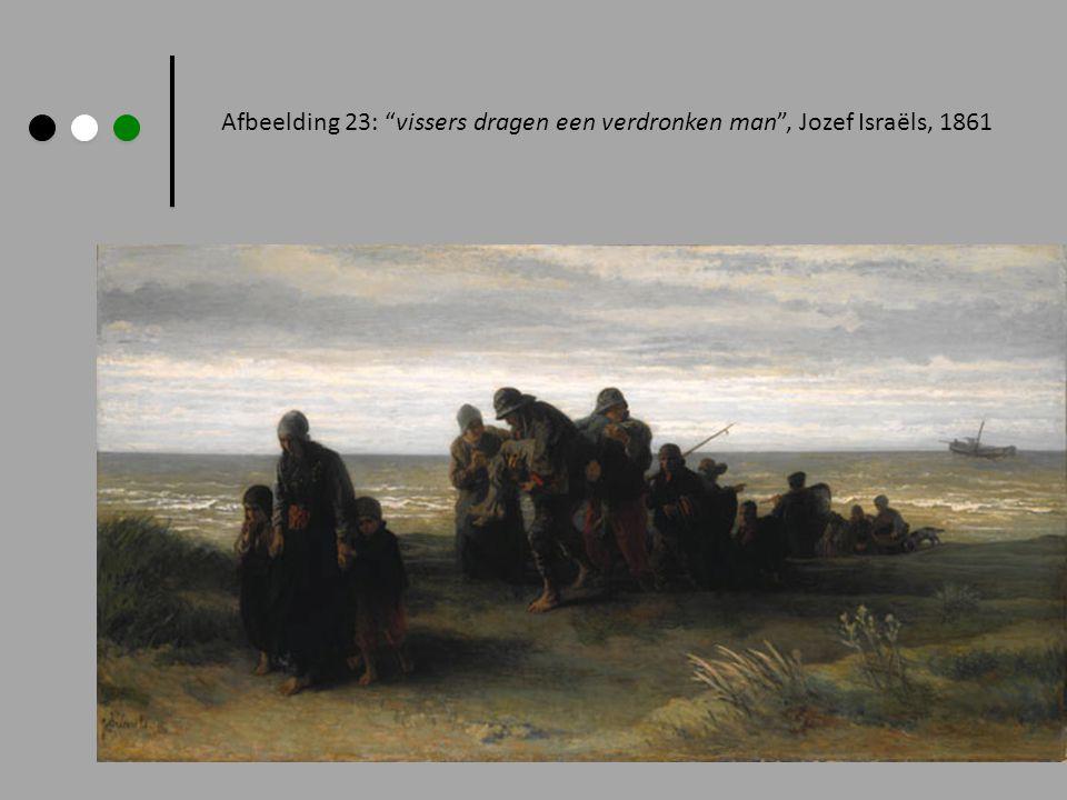 """Afbeelding 23: """"vissers dragen een verdronken man"""", Jozef Israëls, 1861"""