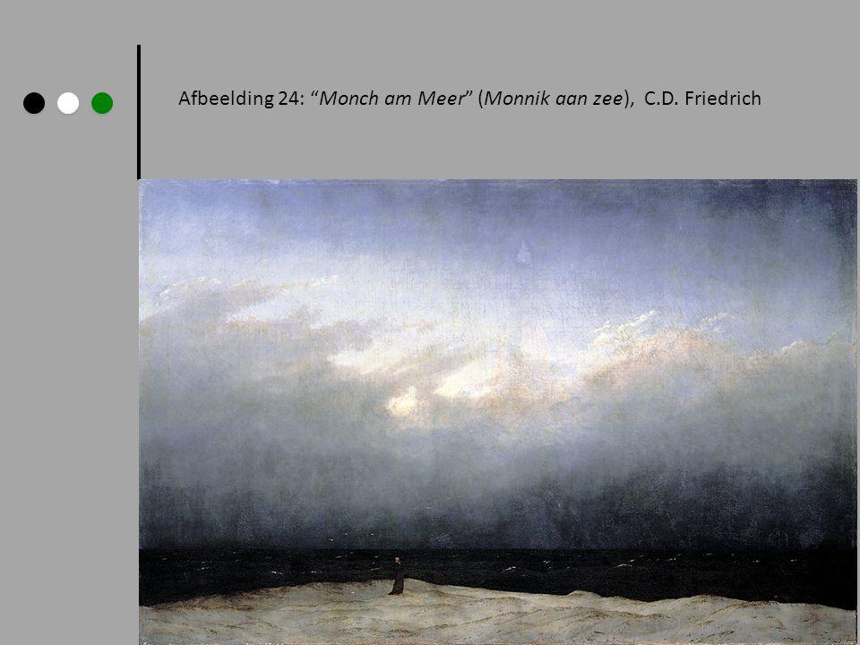 "Afbeelding 24: ""Monch am Meer"" (Monnik aan zee), C.D. Friedrich"