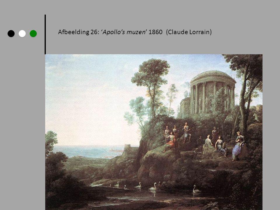 Afbeelding 26: 'Apollo's muzen' 1860 (Claude Lorrain)