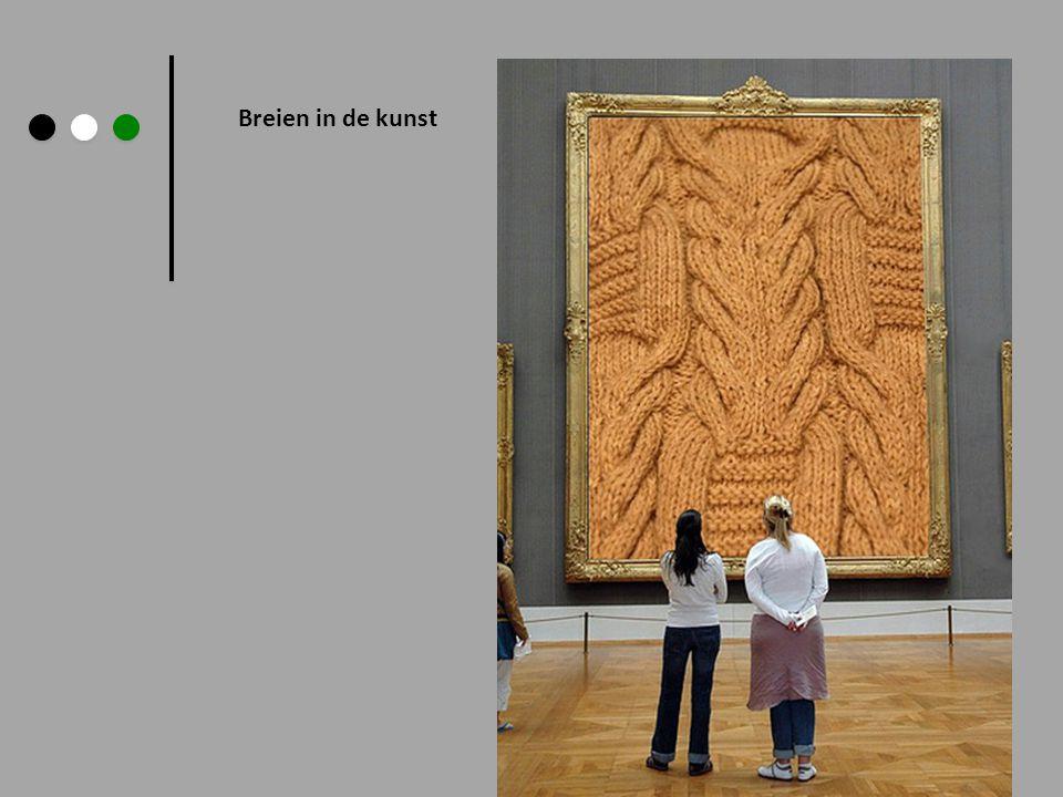 Breien in de kunst