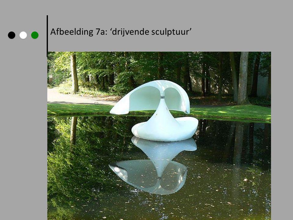 Afbeelding 7a: 'drijvende sculptuur'