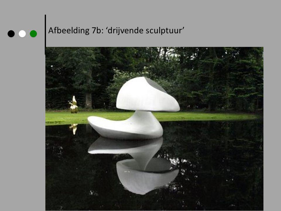 Afbeelding 7b: 'drijvende sculptuur'