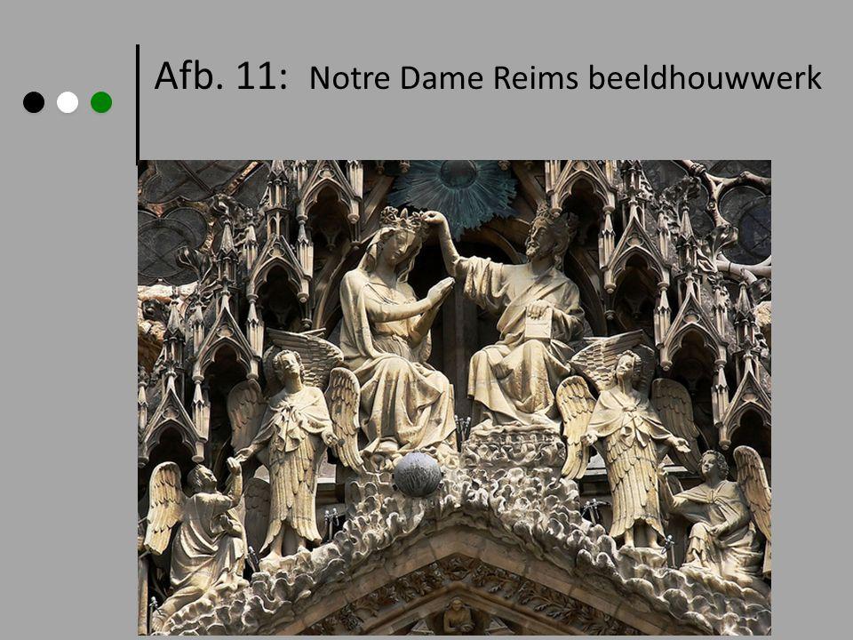 Afb. 11: Notre Dame Reims beeldhouwwerk