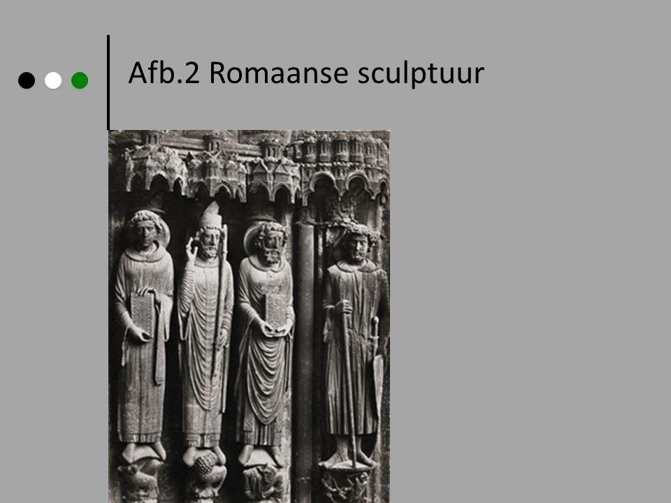 Afb.2 Romaanse sculptuur