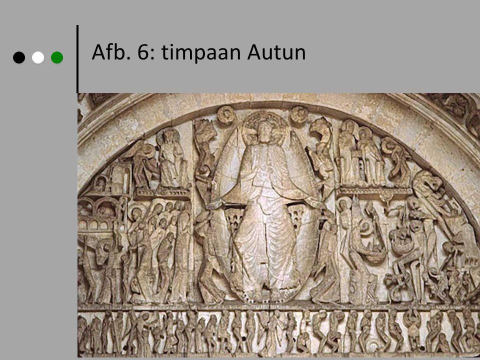 Afb. 6: timpaan Autun