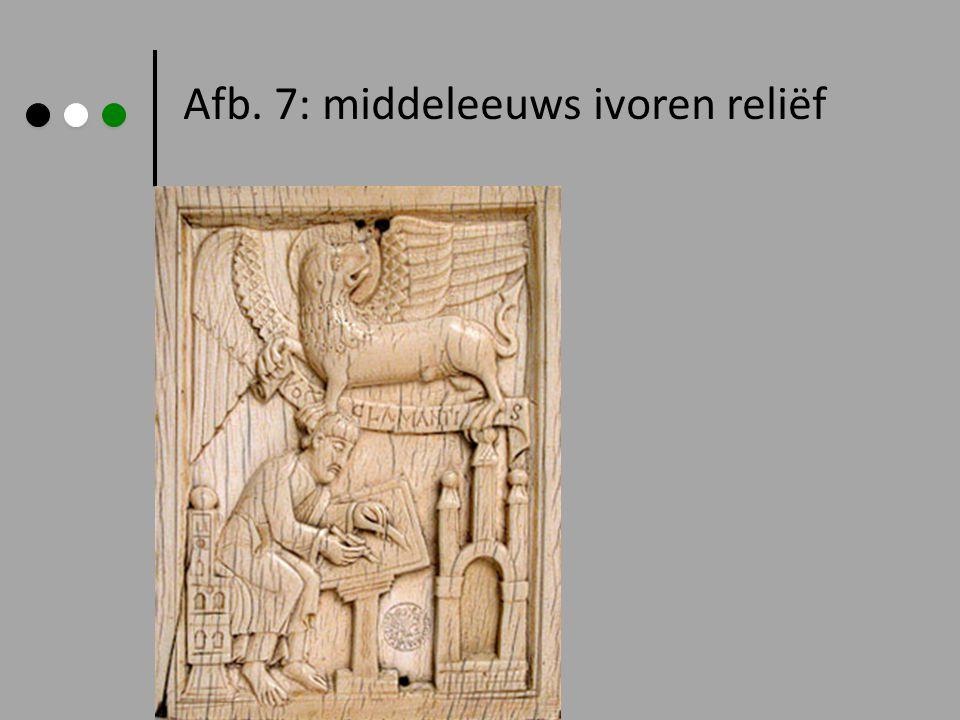 Afb. 7: middeleeuws ivoren reliëf