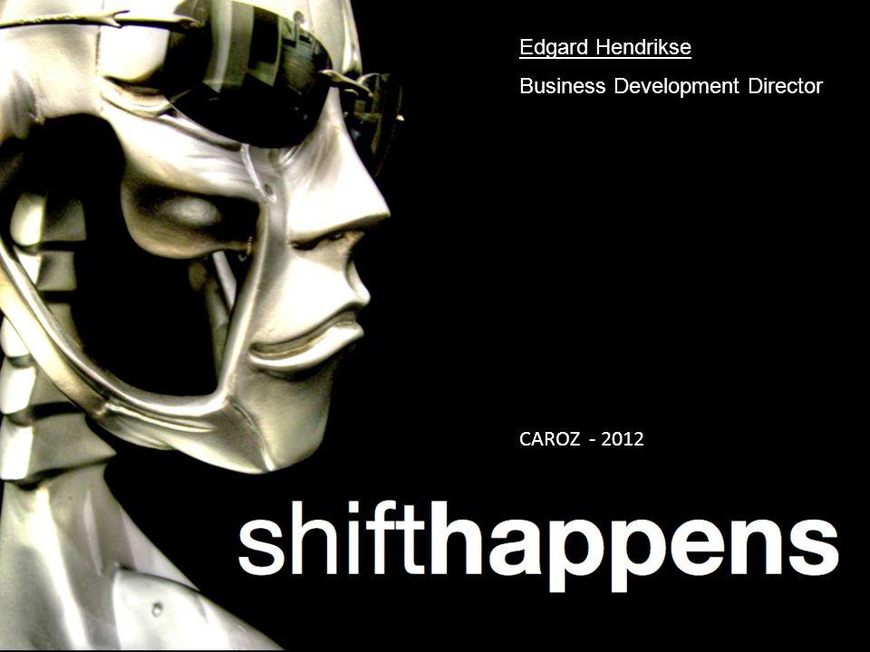 The new standard in Logistics CAROZ - 2012 Edgard Hendrikse Business Development Director