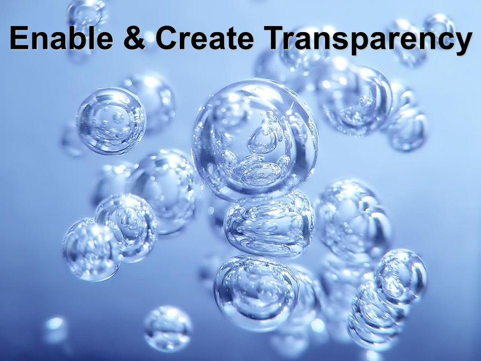 The new standard in Logistics Enable & Create Transparency