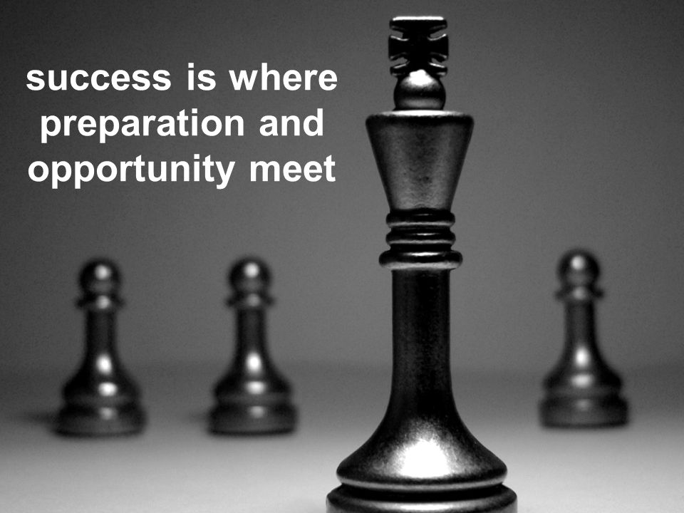 The new standard in Logistics success is where preparation and opportunity meet
