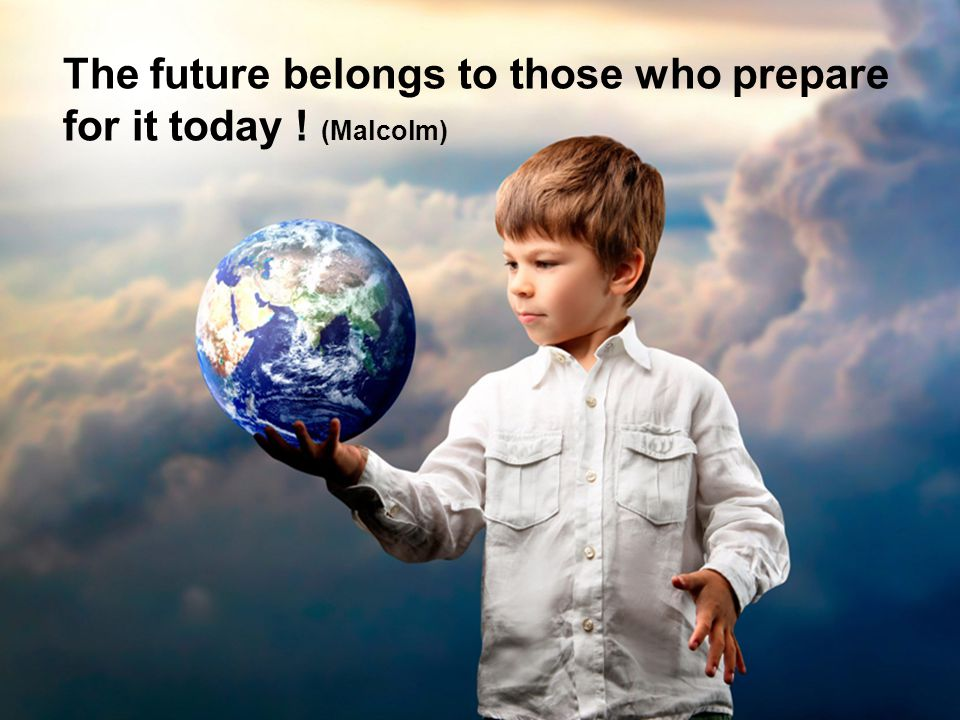 The new standard in Logistics The future belongs to those who prepare for it today ! (Malcolm)