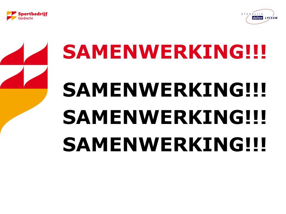SAMENWERKING!!!