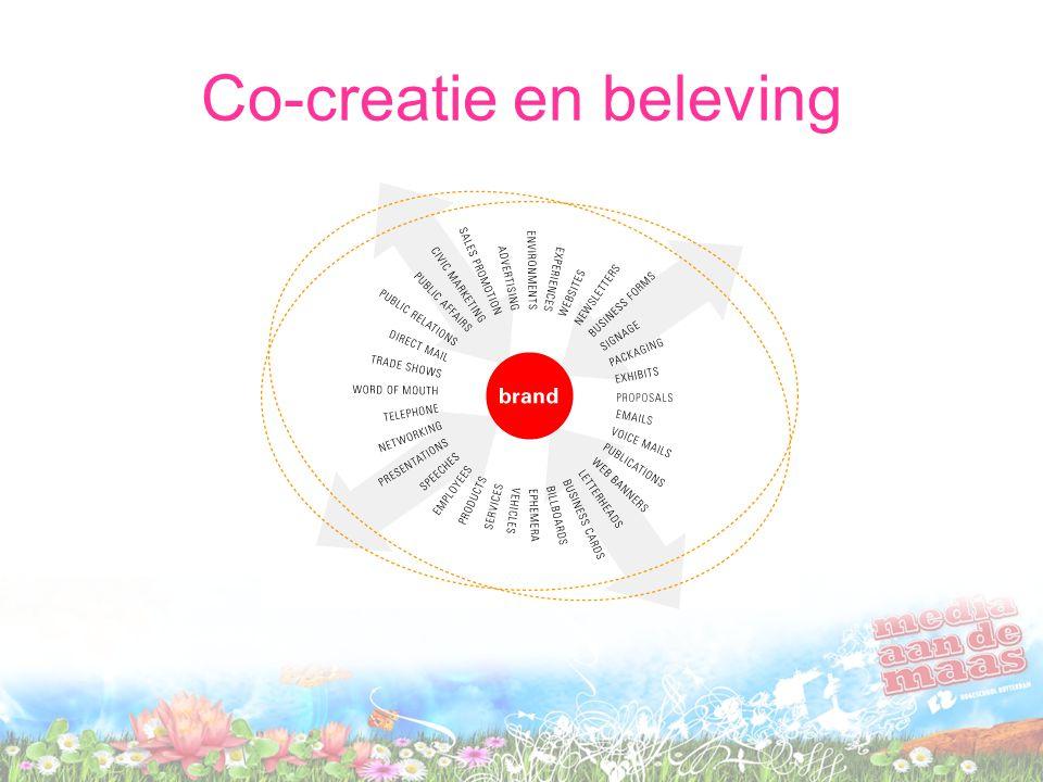 Co-creatie en beleving
