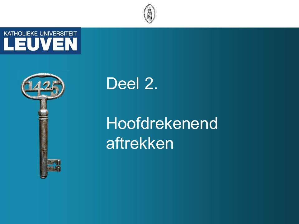 Toemaatje 1: Onderscheid DA vs.