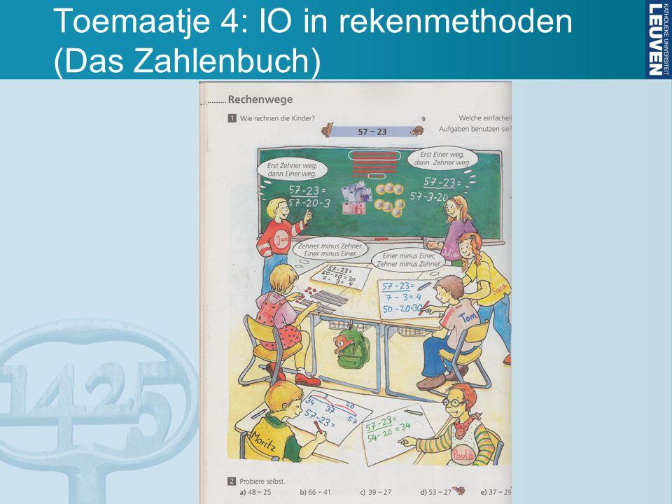 Toemaatje 4: IO in rekenmethoden (Das Zahlenbuch)