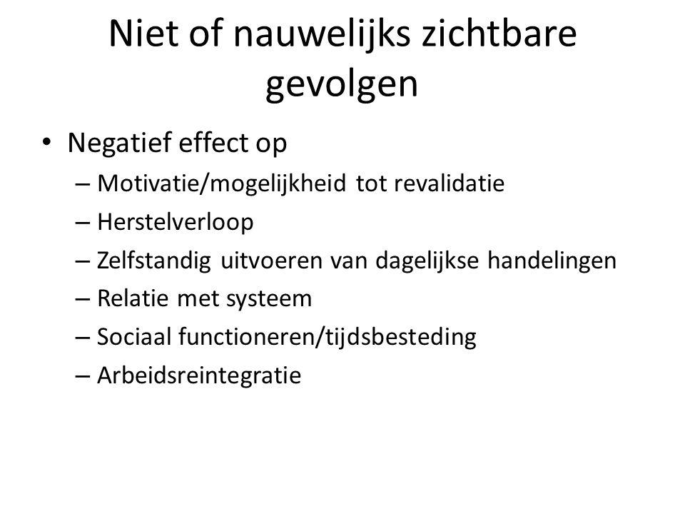 Cognitieve revalidatie Specifiek op het cognitief functioneren gerichte interventies Psycho-educatie m.b.t.