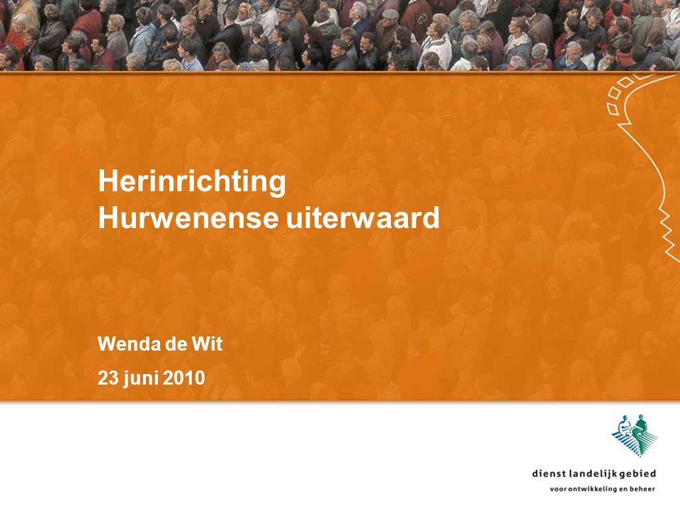 Herinrichting Hurwenense uiterwaard Wenda de Wit 23 juni 2010