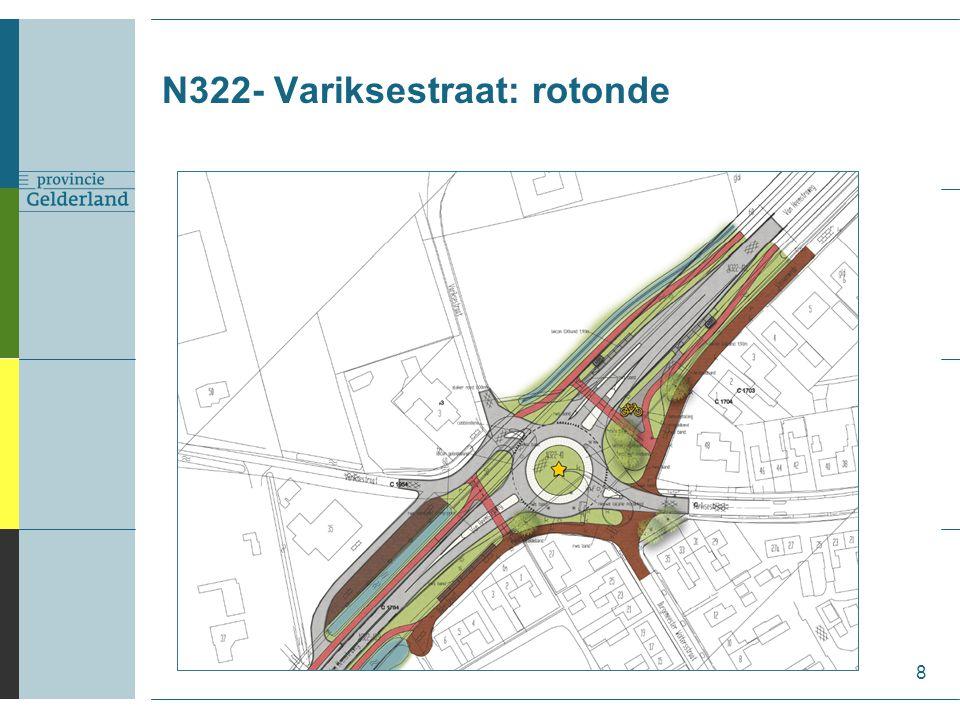 N322- Variksestraat: rotonde 8